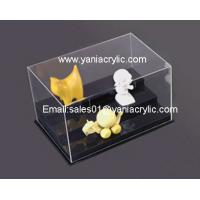 Buy cheap Customized Durable Chemical Resistance Dustbin Rectangle Display Clear Acrylic Box from wholesalers