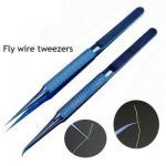 Buy cheap 0.15mm Repair Fly Line Fingerprint Tweezers Pliers For Iphone Nandrepair from wholesalers