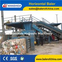 Buy cheap Automatic Horizontal Waste Paper Baler product