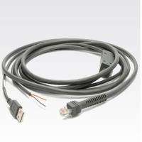 Buy cheap CAB-U06-S09EAR 9ft Straight USB to RJ50 10P10C Cable for Symbol scanner series product