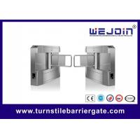 Buy cheap Building Access Control Swing Barrier Gate NO Voice Anti Collision Brushless Motor from wholesalers