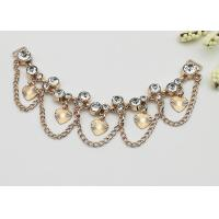 Buy cheap Fashionable Shoe Accessories Chains Elegant Exquisite Environmental Plated product