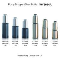 Buy cheap Clear Tube Small Glass Cosmetic Dropper Bottles Chemical Resistance Screw Sealing Type from wholesalers