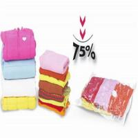 Buy cheap Vacuum sealed storage bags for beddings and winter coats from wholesalers