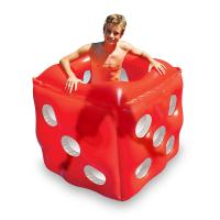 Buy cheap Swimming Pool Inflatable Red Dice Cube Ride - On Floating Water Toy Summer PVC Set from wholesalers