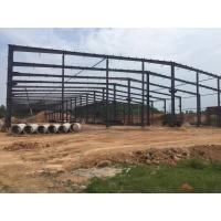 Buy cheap Wide Span Structure Pre Fab Workshop Industrial Building Warehouse product