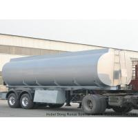 Buy cheap 2 Axles Stainless Stee Water Tank Semi Trailer For Health Water Transport  30T- 35Ton from wholesalers