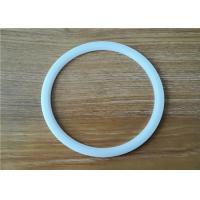 Buy cheap High Performance Ptfe O Ring Seal , White PTFE Gasket Anti High Temperature from wholesalers