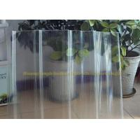 Buy cheap FRP Gel Coat  Transparent Corrugated Fiberglass Panels 2mm Thickness from wholesalers