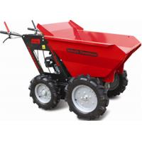 Buy cheap Stepless Speed Change Transmission 4 Wheel Wheelbarrow for Engineering Construction 300kgs from wholesalers