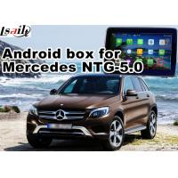 Buy cheap Android GPS navigation box interface for mercedes benz NTG5.0 with rear view WiFi mirror link cast screen from wholesalers