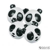 Buy cheap PVC Panda Bear Beach Party Inflatable 11 Inch Beach Ball For Kids CPSIA from wholesalers