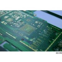Buy cheap Green Solder Mask Multilayer Controlled Impedance PCB with 3mil Line Width from wholesalers