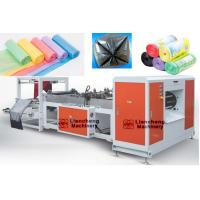 Buy cheap Model LC-500 700-AR drum-linkage rubbish/garbage bag machine/bag making machine from wholesalers