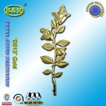 Buy cheap Zamak Rose Coffin Fitting Decoration Zinc Alloy Flower Size 45cm×13cm Gold / Antique Bronze from wholesalers