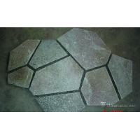 Buy cheap Durable Pink Quartzite Mesh Backed Flagstone Paver Tile Heat Resistance from wholesalers