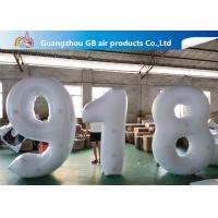 Buy cheap Outdoor Advertising Inflatable Letters And Number Airtight For Sale product