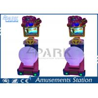 Buy cheap Children Recreation Equipment Racing Game Machine With 22 Inch LCD Screen from wholesalers