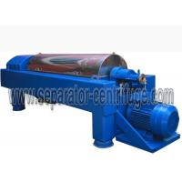 Buy cheap Model PDC SKF Bearing Decanter Centrifuge Continuous Centrifugal Separator Sunflower Oil from wholesalers