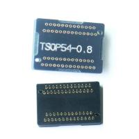 Buy cheap programmer adapter TSOP54 adapter receptacle TSOP54 programmer adapter pin board product