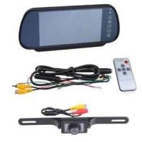 Buy cheap 15 DCV 3.5 inch automotive hd vehicle rear view parking cameras with bibi alarm for car  from wholesalers