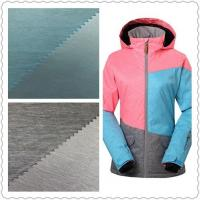 Buy cheap Warm Waterproof UV Resistant Fabric 2/1 Weft Twill 75D * 150D For Skiing Wear from wholesalers