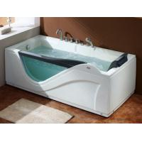 Buy cheap U-BATH small corner jetted bath tubs with tempered glass for single person from wholesalers