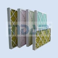 Buy cheap No Metal Disposable Air Filters HVAC Low Pressure Drop Media For Air Conditioner from wholesalers