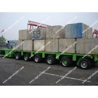 Buy cheap Heavy haul trailers, Goldhofer tieflader, Spmt trailer from wholesalers