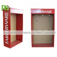 Buy cheap Cardboard Shelf Standing Flat Sidekick Floor Display Stand Recycled Promotion from wholesalers