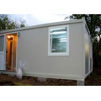 Buy cheap Temporary Residence Modular Container House Steel Door With Sanitary Facilities from wholesalers