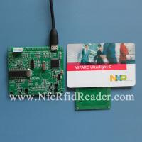 Buy cheap UltraLight C HF 13.56MHZ Wireless RFID Reader , RFID Chip Reader Module from wholesalers