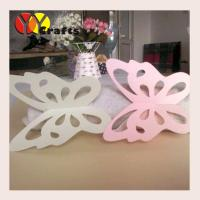 Buy cheap Cute butterfly Napkin Rings holders wedding fancy  metallic paper from wholesalers