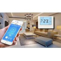Buy cheap OEM Heat Pump Thermostat , Smart Hvac Controller System Lcd Daily Programmable Thermostat Wifi from wholesalers