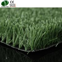 Buy cheap Plastic Artificial Grass Carpet / Court Natural Faux Grass Outdoor Carpet For Soccer from wholesalers