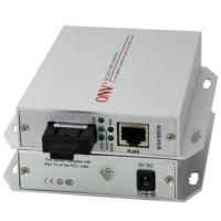 Buy cheap Plug And Play Silver PoE Media Converter Single Mode With 20km Transmission Distance from wholesalers