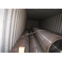 Buy cheap High Pressure Seamless Steel Tube Pipe Hot Rolled 38'' Heavy Wall Thickness from wholesalers