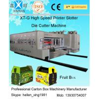 Buy cheap Semi Automatic Die Cutting Machine , Recycled Cardboard Printer Machine For Packaging from wholesalers