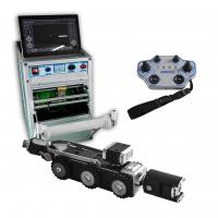 Buy cheap High Definition Rotate Camera 1920x1080P, CCTV Sewer Pipe Inspection Equipment Robot, Mainline Crawler System TVS-15 from wholesalers