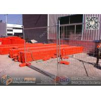 Buy cheap AS4687 -2007 Temporary Fencing Panels | Clamp | Feet HDG 42 microns UV treatment base Made In China ,China Supplier from wholesalers