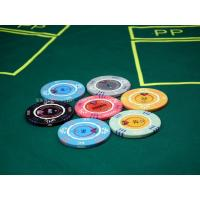 Buy cheap Texas Holdem Casino Grade Premium Poker Chips 14g With Denominations 100 from wholesalers