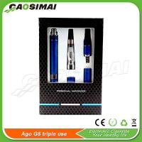 Buy cheap New AGO G5 Triple Use on sale!! Vaporizer for e liquid/wax/dry herb from wholesalers
