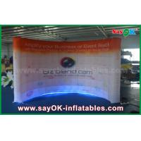 Buy cheap Customized Led Air Wall Inflatable Photo Booth Lighting Wall from wholesalers