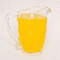 Buy cheap handmade home use glass pitcher water juice pitcher transparent paisley glass pitcher from wholesalers