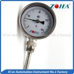 Buy cheap Dial Type Metal Stem Thermometer / Small Bimetallic Temperature Gauge from wholesalers