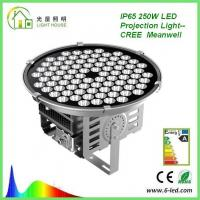Buy cheap High Power 250W Floodlight High Mast Lighting Firxture , IP67 High Mast Tower Lighting product