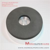 Buy cheap 1A1 resin bond CBN abrasive disc processing tool steel Alisa@moresuperhard.com from wholesalers
