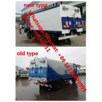 Buy cheap Year-End Promotion! China made dongfeng 190hp diesel 3.5m3 water tank+7.2m3 dust tank street sweeeping vehicle for sale, from wholesalers