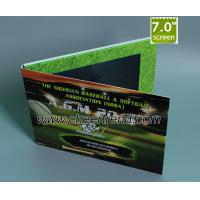 China Factory supply 7inch LCD video book video brochure, with 2G memory, A4 size on sale
