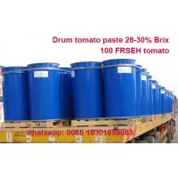 Buy cheap Supply high quality good price tomato paste 28-30% brix CB and HB produced with 100% fresh tomatoes from wholesalers